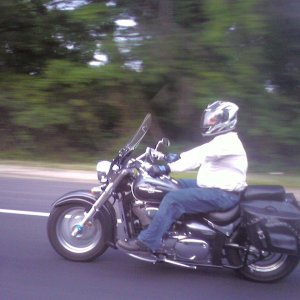 Me on my motorcycle